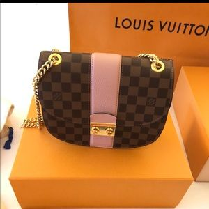 LOUIS VUITTON Wight Damier Ebene💕💞